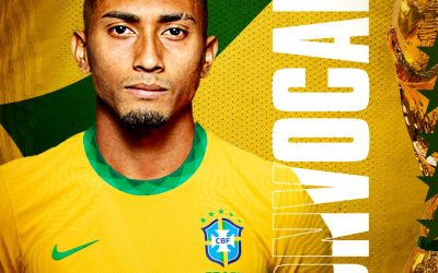 """Raphinha comemora primeira convocação para a Seleção Brasileira: """"Sem palavras para descrever a minha felicidade"""""""