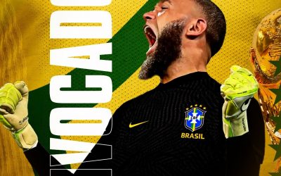 """Após passar pelas quatro divisões do país, Everson realiza sonho de infância e é convocado para a Seleção Brasileira: """"Difícil encontrar palavras neste momento. Muito emocionado e orgulhoso"""""""