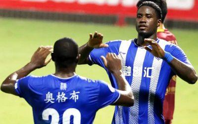 Markão marca pelo segundo jogo consecutivo, Wuhan Three Towns vence e se aproxima do acesso na China